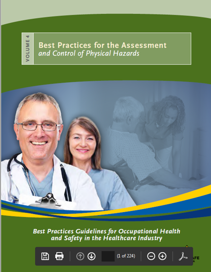 Picture of Best Practices Guidelines for Occupational Health and Safety in the Healthcare Industry. Volume 4: Best Practices for the Assessment and Control of Physical Hazards