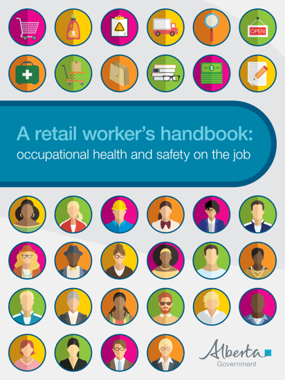 Picture of A retail worker's handbook: occupational health and safety on the job