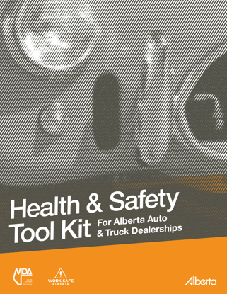 Picture of Health and Safety Tool Kit for Alberta Auto & Truck Dealerships