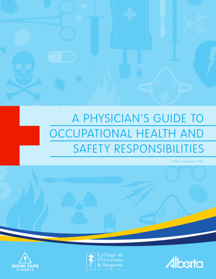Picture of A Physician's Guide to Occupational Health and Safety Responsibilities