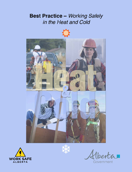 Picture of Best Practice: Working Safely in the Heat and Cold
