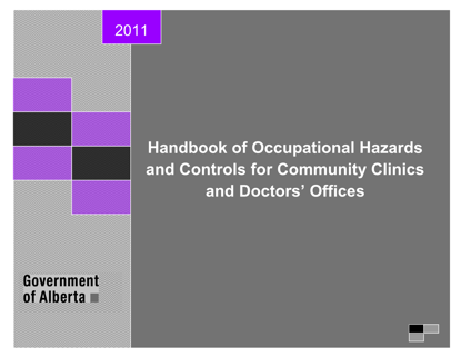 Picture of Handbook of Occupational Hazards and Controls - Community Clinics and Doctors' Offices