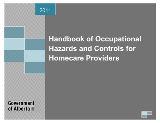 Picture of Handbook of Occupational Hazards and Controls for Homecare Providers
