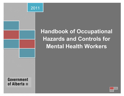 Picture of Handbook of Occupational Hazards and Controls for Mental Health Workers