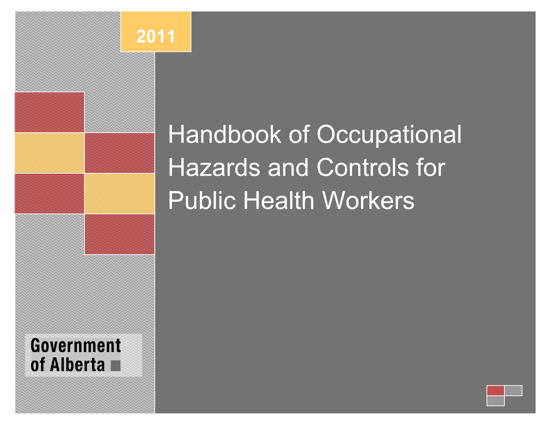Picture of Handbook of Occupational Hazards and Controls for Public Health Workers