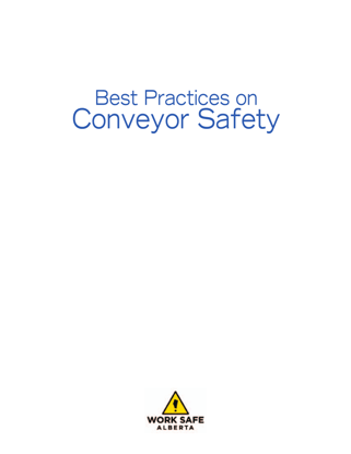 Picture of Best Practices on Conveyor Safety
