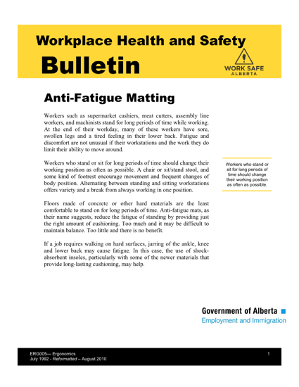 Picture of Anti-Fatigue Matting