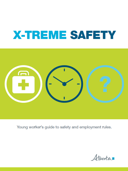 Picture of X–Treme Safety: Young workers guide to safety and employment rules