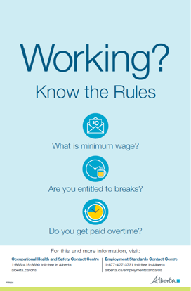 Picture of Working? Know the Rules