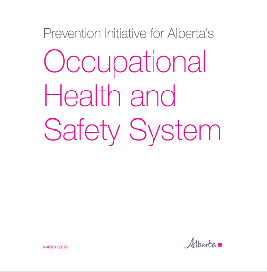 Picture of Prevention Initiative for Alberta's Occupational Health and Safety System