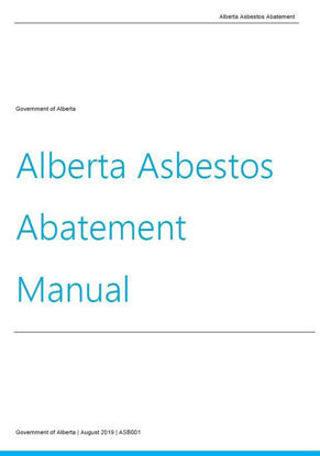 Picture of Alberta Asbestos Abatement Manual