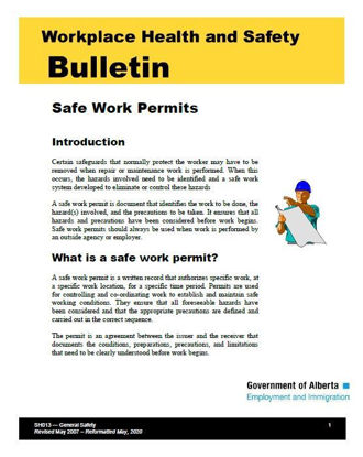 Picture of Safe Work Permits