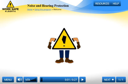 Picture of Noise and hearing protections - eLearning