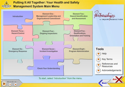 Picture of Health and safety management system - eLearning