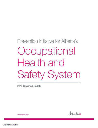 Picture of Prevention Initiative for Alberta's Occupational Health and Safety System: 2019-20 Annual Update