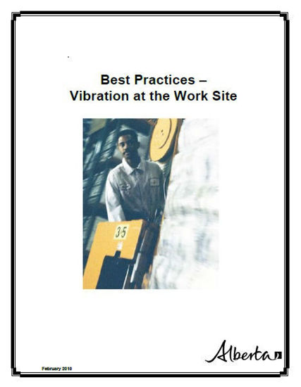 Picture of Vibration at the Work Site: Best Practices