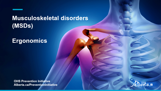 Picture of MSD video 5: Ergonomic controls for musculoskeletal disorder prevention